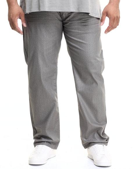 Ur-ID 224218 Akademiks - Men Grey Robertson Wax Coated Denim Jeans