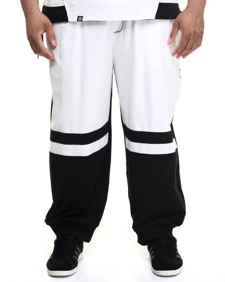 Ur-ID 224232 Akademiks - Men Black,White Dragon Cut & Sewn Sweatpants (B&T)