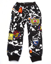 Bottoms - SPLATTER & PATCH JOGGERS (4-7)