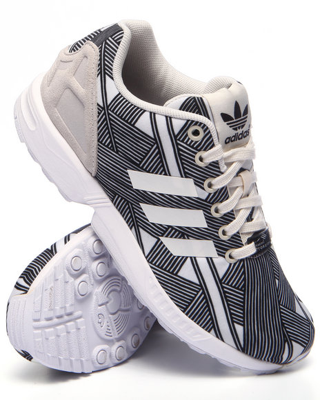 Adidas - Women White Zx Flux W Sneakers - $52.99