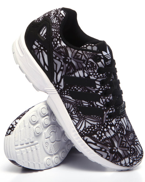 Adidas Women Zx Flux W Sneakers Black 8.5