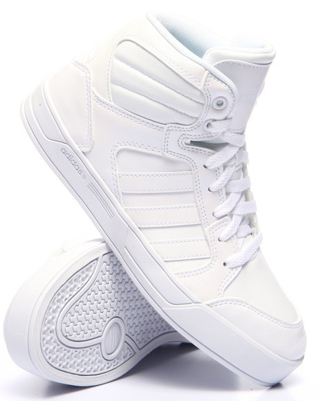 Adidas - Women White Raleigh Mid W Sneakers - $57.99