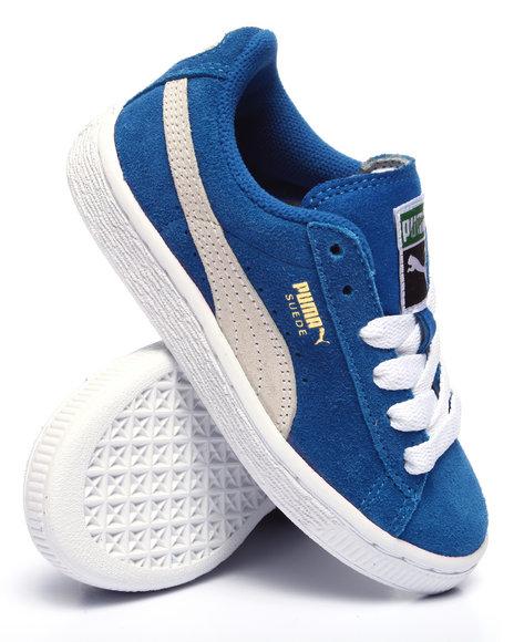 Puma - Boys Blue Suede Jr Sneakers (11-7) - $44.99