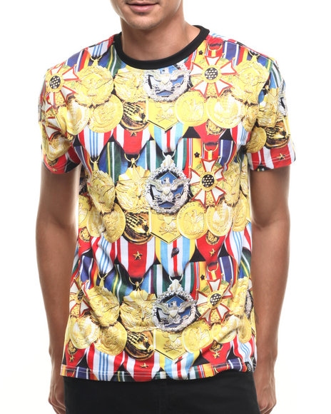 highly decorated s/s tee