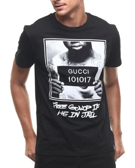 Hudson Nyc - Men Black Free Guwop S/S Tee