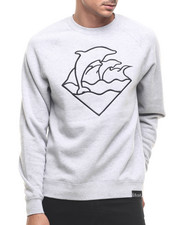 Men - WAVES CREWNECK SWEATSHIRT