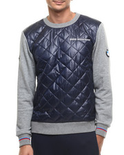 Men - B M W Motorsport Quilted Crewneck Sweatshirt