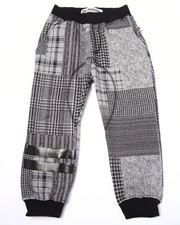 Sweatpants - PLAID JOGGERS (4-7)
