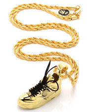 Men - 14K Gold Air Sneaker Necklace