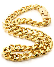 Men - 20 MM Miami Gold Cuban Curb Chain