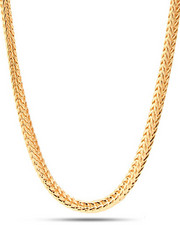 Accessories - Gold Franco 3 MM Necklace