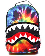 Backpacks - Tie Dye Chenille Shark