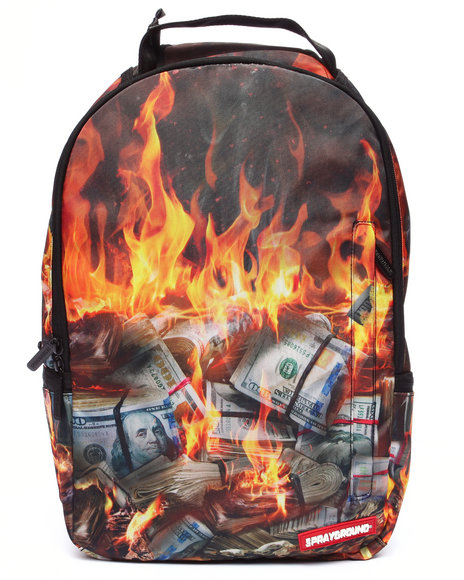 Sprayground - Men Multi Fire Money Backpack