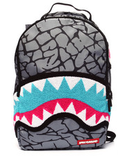 Bags - South Beach Chenille Shark Backpack