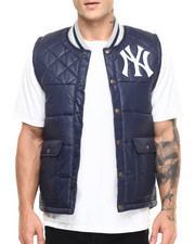 Men - New York Yankees MLB Snap Front Vest (Tailored Fit)