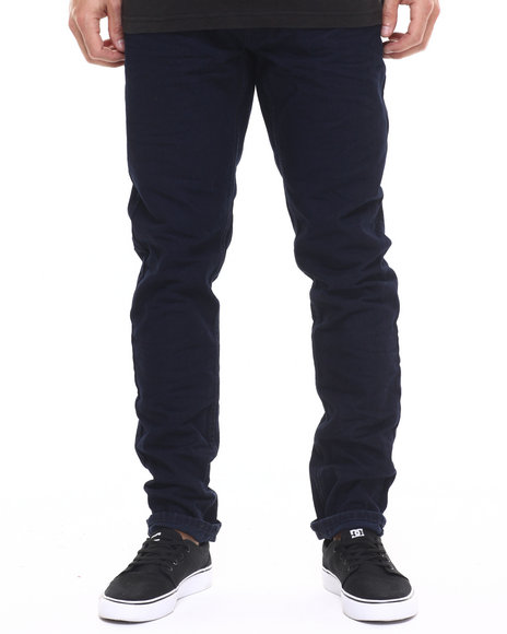 Heritage America - Men Dark Wash Heritage Basic Denim Jeans