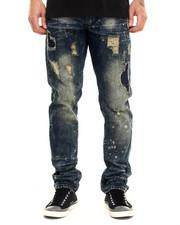 Jeans & Pants - Splatter Denim Jeans