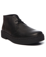 Men - Playboy Hi - Top Leather Lace - Up Shoes
