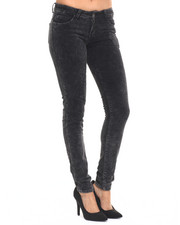 Women - Holiday Chemical Plush Cord Skinny