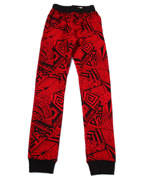 Arcade Styles - Boys Red Animated Joggers (8-20)