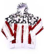 Sizes 8-20 - Big Kids - TOP CONTENDER AMERICANA HOODY (8-20)