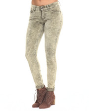 Bottoms - Holiday Chemical Plush Cord Skinny