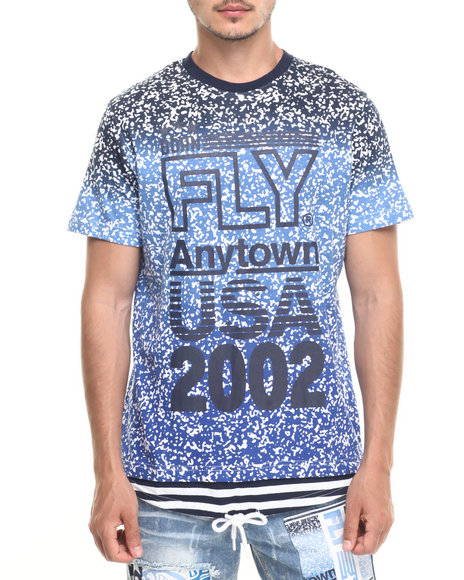 Born Fly Navy T-Shirts