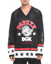 Jerseys - DGK x Popeye Strong to the Finish Hockey Jersey