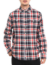 Men - K G Buffalo Athletic Plaid L/S Flannel Button - Down