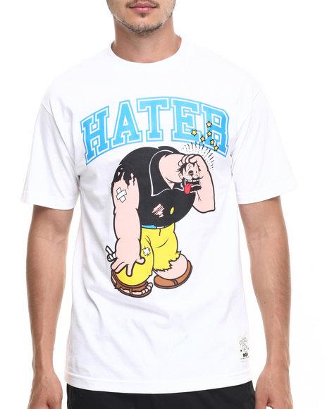 Dgk - Men White Dgk X Popeye Hater Tee