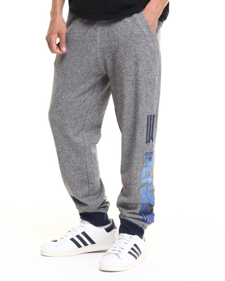 Born Fly - Men Grey,Navy Bloah Joggers
