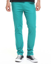 Basic Essentials - Skinny colored pants (USA Made) (Go USA!
