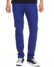 Basic Essentials - Skinny colored pants (USA Made) (Go USA!)