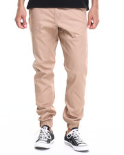 Men - twill casual jogger  (USA Made) (Go USA!)