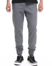 Basic Essentials - twill casual jogger (USA Made) (Go USA!)