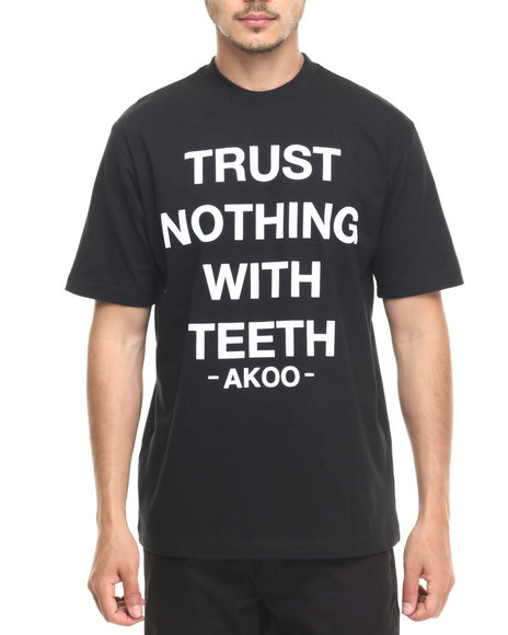 Akoo - Men Black Trust Nothing Tee