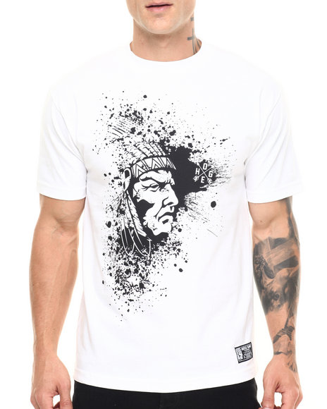 Hustle Gang - Men Black,White Galaxy Tee
