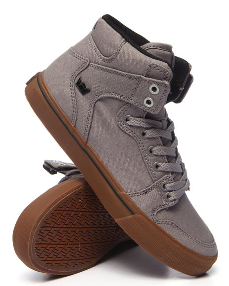 Supra - Men Grey Vaider Sneakers