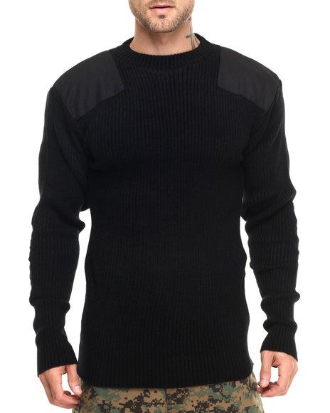 Rothco Men Rothco G.I. Style Acrylic Commando Sweater Black Large