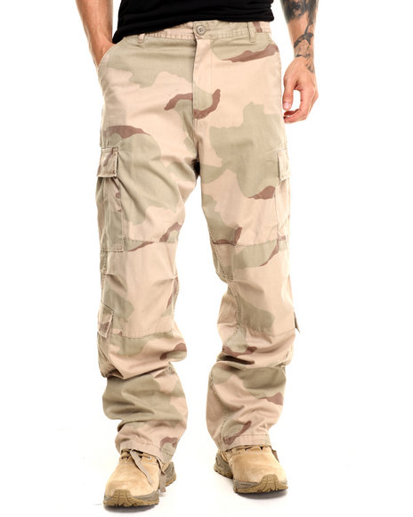 Rothco - Men Tri-Color Desert Camo Rothco Vintage Camo Paratrooper Fatigue Pants