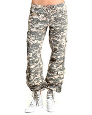 Bottoms - Rothco Womens Camo Vintage Paratrooper Fatigue Pants