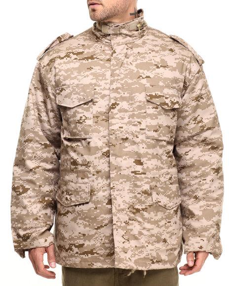 Rothco Men Rothco M-65 Camo Field Jacket Desert Digital Camo X-Large