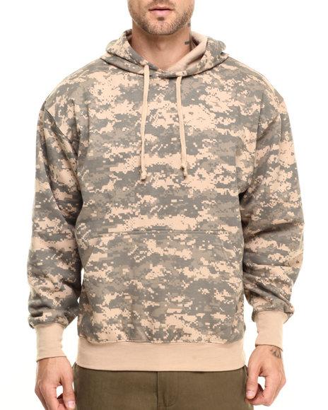Rothco Men Rothco Camo Pullover Hooded Sweatshirt ACU Digital Camo X-Large