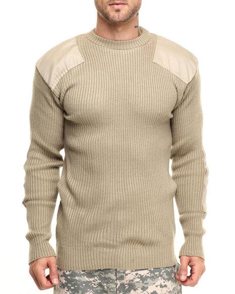 Rothco Men Rothco G.I. Style Acrylic Commando Sweater Khaki Large