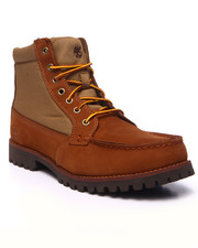 Footwear - Oakwell 7 - Eye Moc Toe Leather / Fabric Boots