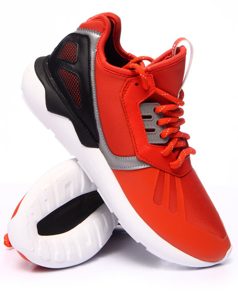 Adidas - Men Dark Orange Tubular Low - $86.99