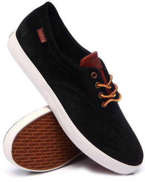 Huf - Men Black,Tan Sutter Sneakers