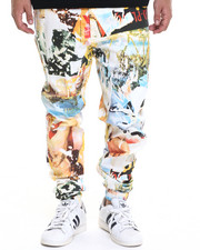 Men - Limbo Printed Pants