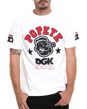 Men - DGK x Popeye Strong to the Finish Tee