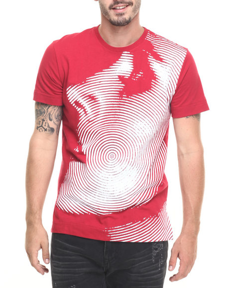 Akoo - Men Red Hypnotize Knit Tee